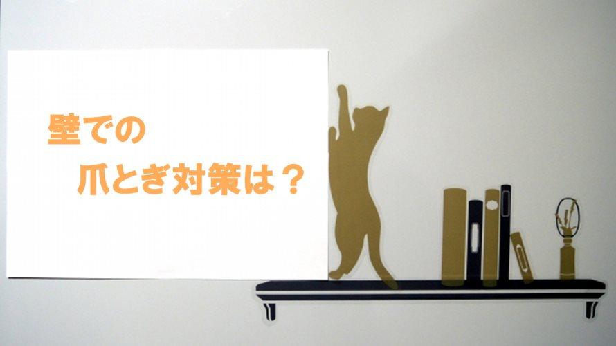 賃貸で猫の爪とぎ対策!ビニールクロスと養生テープで壁を保護