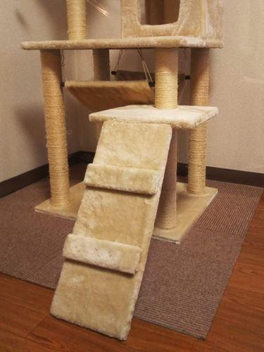 キャットタワーの階段