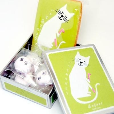 アンファン猫クッキー・マシュマロ